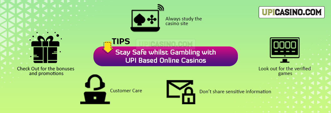 stay safe while gambling at casino